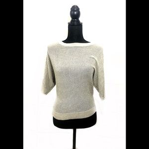 Express gold sweater coverup